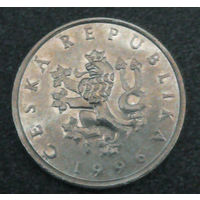 1 крона Чехия.1996г.