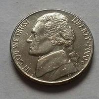 5 центов, США 2000 D