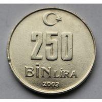 Турция, 250.000 лир 2003 г.
