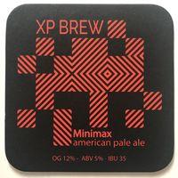 Подставка под пиво Minimax пивоварни Xp Brew /Россия/