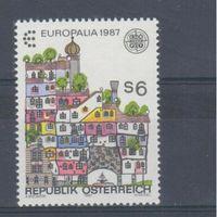 [421] Австрия 1987. Европа.EUROPA.