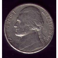 5 центов 1986 год Р США