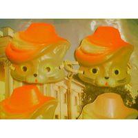 """""""Кот в сапогах"""" - детская новогодняя карнавальная маска"""