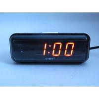 Настольные Сетевые LED Часы VST-738, Будильник