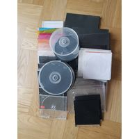 Боксы, футляры, коробки, конверты для CD/DVD дисков. Цена за все