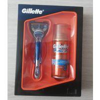 Станок и гель Gillette Fusion