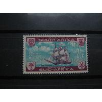 Транспорт, корабли, флот, гербы, парусники Южная Африка марка