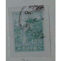 Марка Северной Кореи.  1957 г.