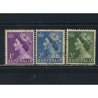 GB Австралия Доминион 1953 EII Стандарт Полная #234-6