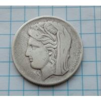 Греция 10 драхм 1930г. Диметра. /Мать-Земля/.Богиня Плодородия. Серебро 0,500