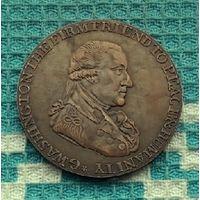 Великобритания. Англия. Лондон. 1 торговый пенни-токен 1795 года.