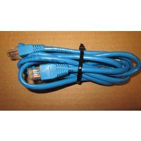 Патч-корд (patching cord) D-LINK UTP кат.5е 1,5м синий литой