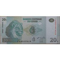 Конго. 20 франков 2003 года, P94