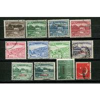 Пакистан - 1961-1979 - 12 марок. Гашеные. Старт с 5 коп. (Лот 21S)