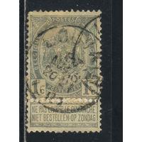 Бельгия Кор 1893 Герб Номинал Стандарт С купоном на доставку в выходные дни #50