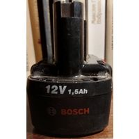 АККУМУЛЯТОР К ШУРУПОВЕРТУ BOSCH.. 12V / 1,5Ah / CsNiCd/ Bosch D-70745. Made in Poland. Еще послужит - работал не долго.