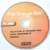 Диск The Orange Box DVD+R (репак, только диск без коробки), обмен на аудио CD 1 к 1
