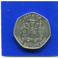 Ямайка 1 доллар 2003