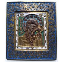 Икона Казанская с пожара
