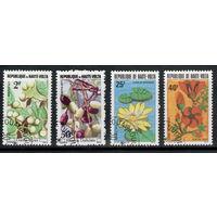 Верхняя Вольта /1977-82/ Флора / Цветы 4 Марки