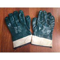Перчатки нитриловые полн. покрытие (манжет крага)