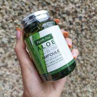 Многофункциональная ампульная сыворотка с экстрактом алоэ Farm Stay 250 ml