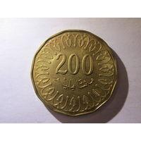Тунис 200 миллим 2013 г. Распродажа