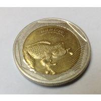 Колумбия 500 песо 2016 лягушка