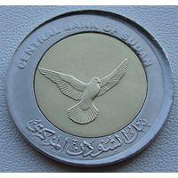 """Судан. 50 пиастров 2006 год KM#123 """"Голубь в поле"""" А-2"""