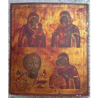Икона 4х частная Ветка