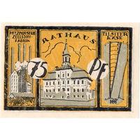 Восточная Пруссия, Тильзит (Советск), 75 пфенигов, 1921 г., UNC