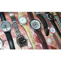 Часы наручные, кварцевые, в ассортименте (на выбор 15 шт.)