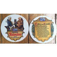 Подставка под пиво Paulaner Salvator No 1