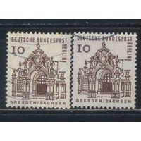 Германия Зап.Берлин 1964 Вып Архитектура Стандарт Дрезден #242