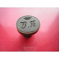 Личная печать дворянина (в бронзе)