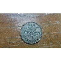 1 цент 1980, Канада