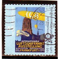 Германия. Ми-2740. 100 лет Международная аэрокосмическая выставка Франкфурт-на-Майне. 2009.