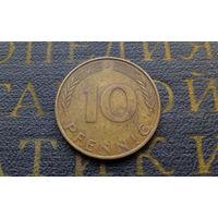 10 пфеннигов 1971 (J) Германия ФРГ #03