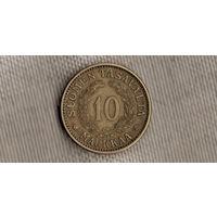 Финляндия 10 марок 1932/редкая(Oct)