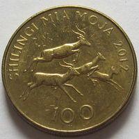 Танзания, 100 шиллингов 2012 г