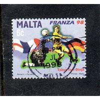 Мальта.Ми-1047.FIFA - Кубок Мира по футболу.Франция.1998.