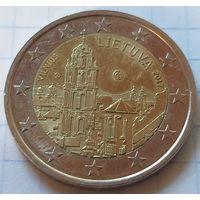 Литва 2 евро, 2017 Вильнюс    ( 3-9-3 )