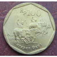 2122:  100 рупий 1998 Индонезия