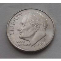 10 центов (дайм) США 2019 D, AU