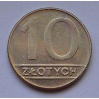 Польша 10 злотых, 1990 г.