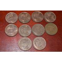 Ирландия 1 пенни(1996,1992,1971,1995,1990,1988,1994)