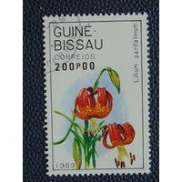 Гвинея- Бисау  1989г. Флора.