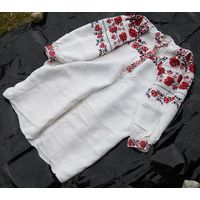 Сорочка домотканая льняная (рубашка, вышиванка), 1920-е гг.