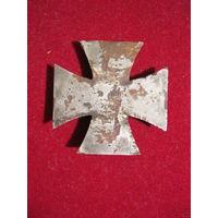 Задняя рамка железного креста 1 класса