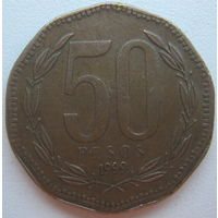 Чили 50 песо 1999 г. (d)